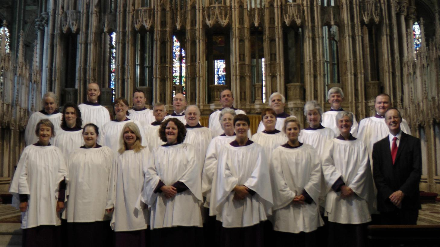 Buxton Madrigal Singers at Durham Cathedral - 2014